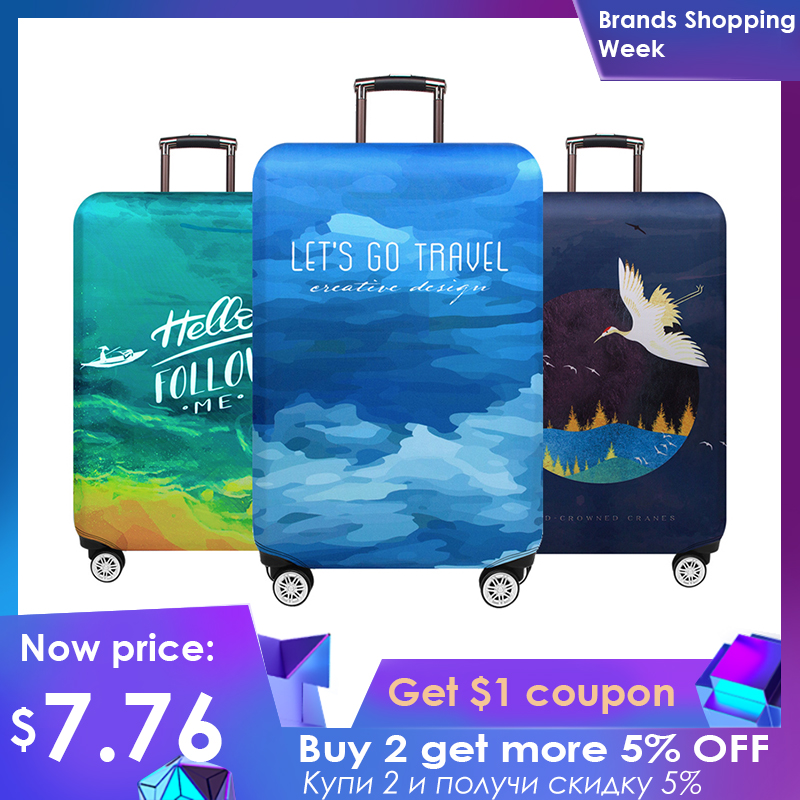 Case Protective-Covers Trolley Luggage 18-32inch-Luggage-Case Travel-Suitcase July's Song