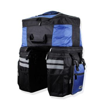 VSHENG Large Capacity Removable Cycling Bag Rain Cover Bicycle Rear Tail Bag Travel Cycling Storage Rack Trunk Bag Good Quality