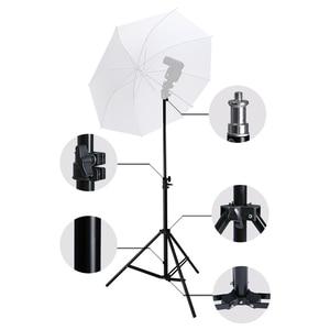 Image 4 - Professionelle Einstellbare Licht Stehen Stativ Mit 1/4 Schraube Kopf Für Foto Studio Blinkt Fotografische Beleuchtung Softbox