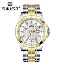 Часы наручные swish Мужские кварцевые модные роскошные спортивные