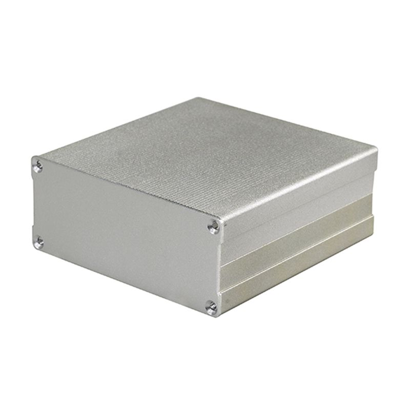 Superbat 100*97*40mm (L*W*H) Aluminum Box Enclosure Silver Case Project Electronic DIY