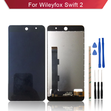 1 шт. для Wileyfox Swift 2 ЖК-дисплей с сенсорным экраном Swift2 Plus ЖК-дисплей дигитайзер полная сборка