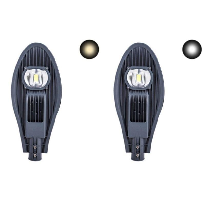 220V 30W LED Street Light 130-140 Lumens Flood Lamp Waterproof for Outdoor Park NEW