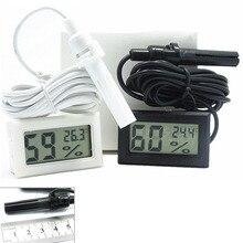 Indoor Convenient LCD Digital Thermometer Aquarium Hygrometer Temperature Mini Sensor
