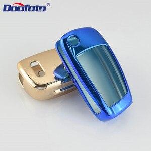 Doofoto наклейка на ключ от автомобиля крышка для Audi Q3 A4L A6L C6 A7 A8 A1 A3 A4 A5 Q5 A6 автомобиль складной ключ наборы Аксессуары защитная оболочка
