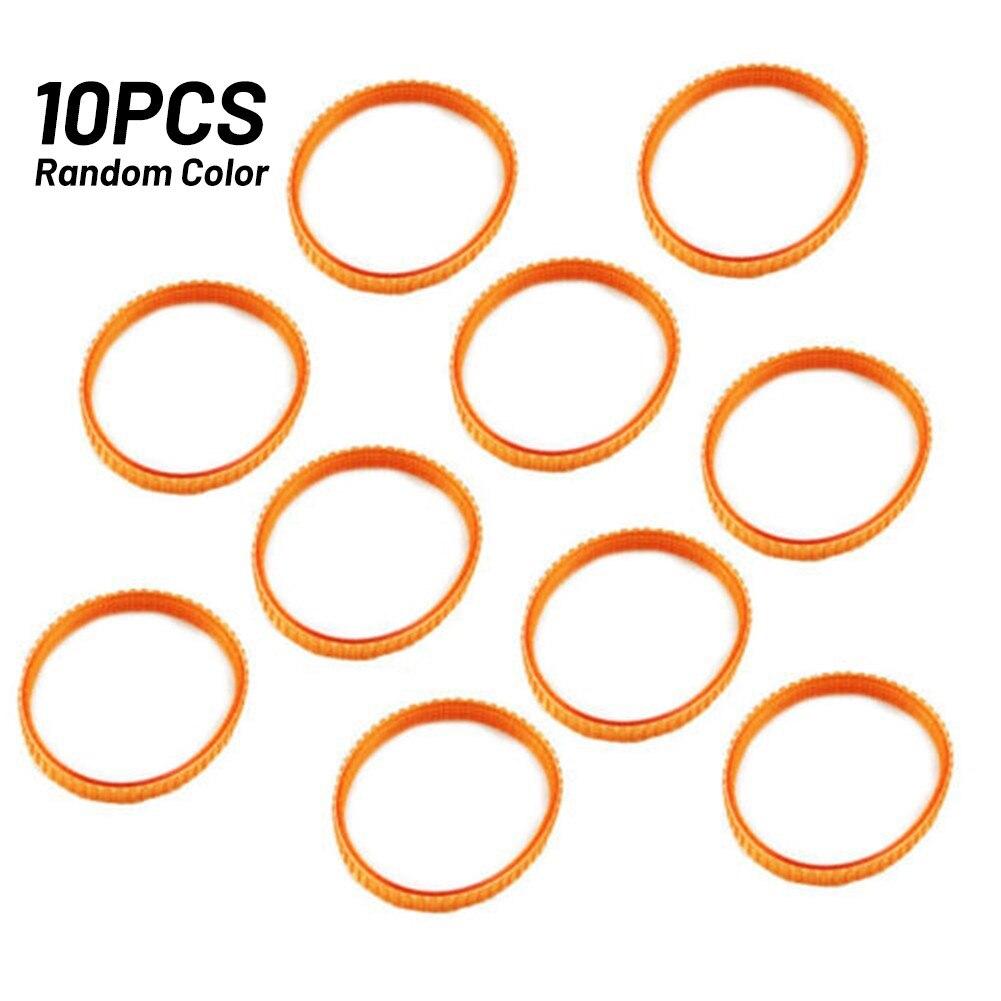10pcs Belt 4 Peaks Color Random Durable High Quality Planer Belt Practical