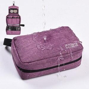 Women Men Travel Hanging Cosmetic Bag Ma