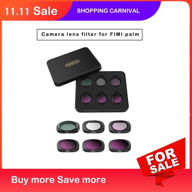 Filtro de lente para FIMI PALM CPL MCUV ND4/8/16/32 Protector de parasol para FIMI palm Gimbal, accesorios de cámara