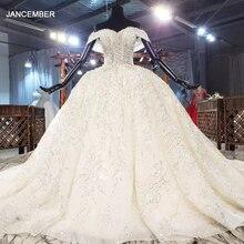 Htl1903 бальное роскошное свадебное платье с бисером и кристаллами