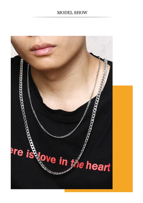 Men's necklace chain