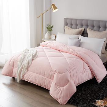 Nowy styl grube ciepłe kołdra zima chleb kształt pocieszyciel luksusowe drukowanie 100 pióro tkaniny pocieszyciel nowy zestaw łóżko koc tanie i dobre opinie FDGD4354