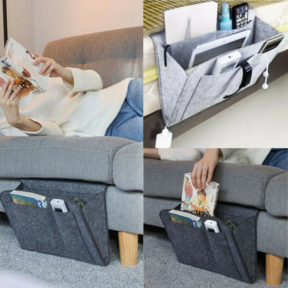Felt-Bedside-Storage-Organizer-Bed-Desk-Bag-Sofa-TV-Remote-Control-Hanging-Caddy-Couch-Storage-Organizer (1)