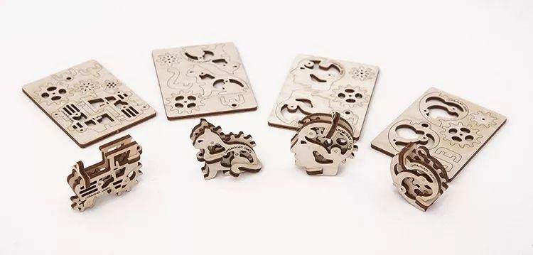 高品质情趣玩物,精妙绝伦的乌克兰DIY木质机械模型,齿轮传动其乐无穷!