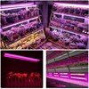 LED Grow Lights 500W Full Spectrum Growing LED Lamp Lighting 50cm Double tube plant chandelier for Hydroponic Indoor Plants promo