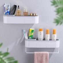 Настенная полка для ванной душа держатель кухни стеллаж хранения