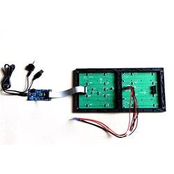MS3264 Muziek Spectrum Controlekaart Met 2048Pcs LED Licht Display Audio Versterker Analyzer
