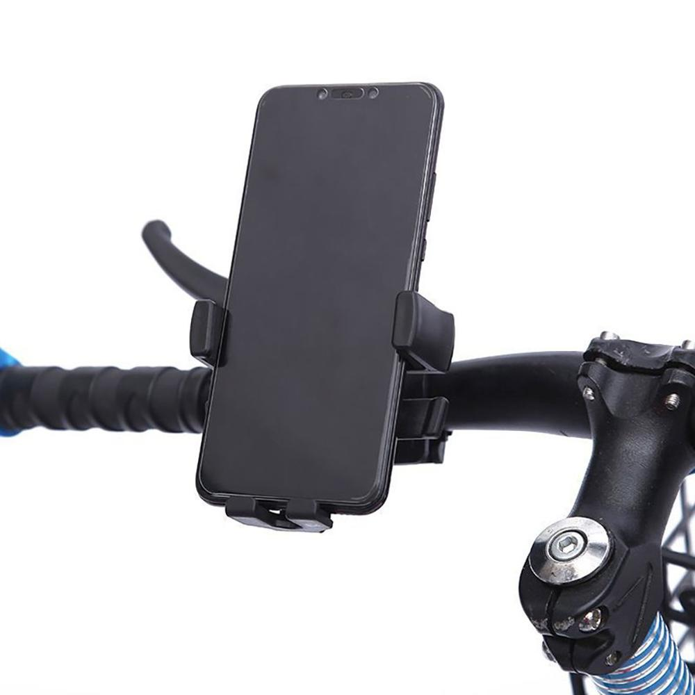 Durable Use BG-115 Lockable Smartphone Motorcycle Bike Bicycles Phone Holder Bracket Bicycle Moto Handle Grip Rack