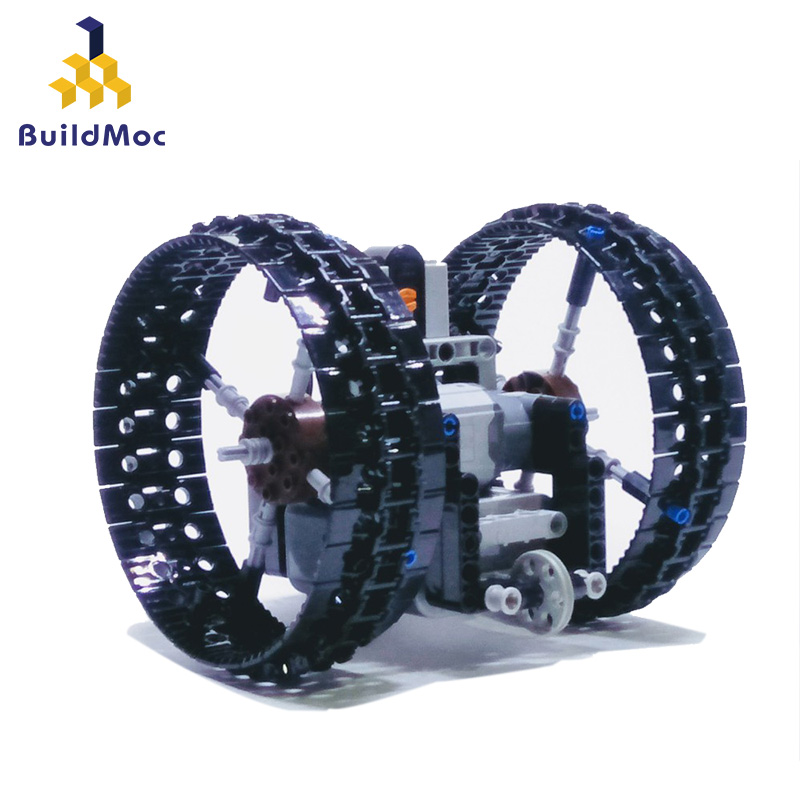 BuildMoc The Duowheel Mini remote balanced control vehicle Control RC Car Toys Trucks boys Toys Updated Version for Children