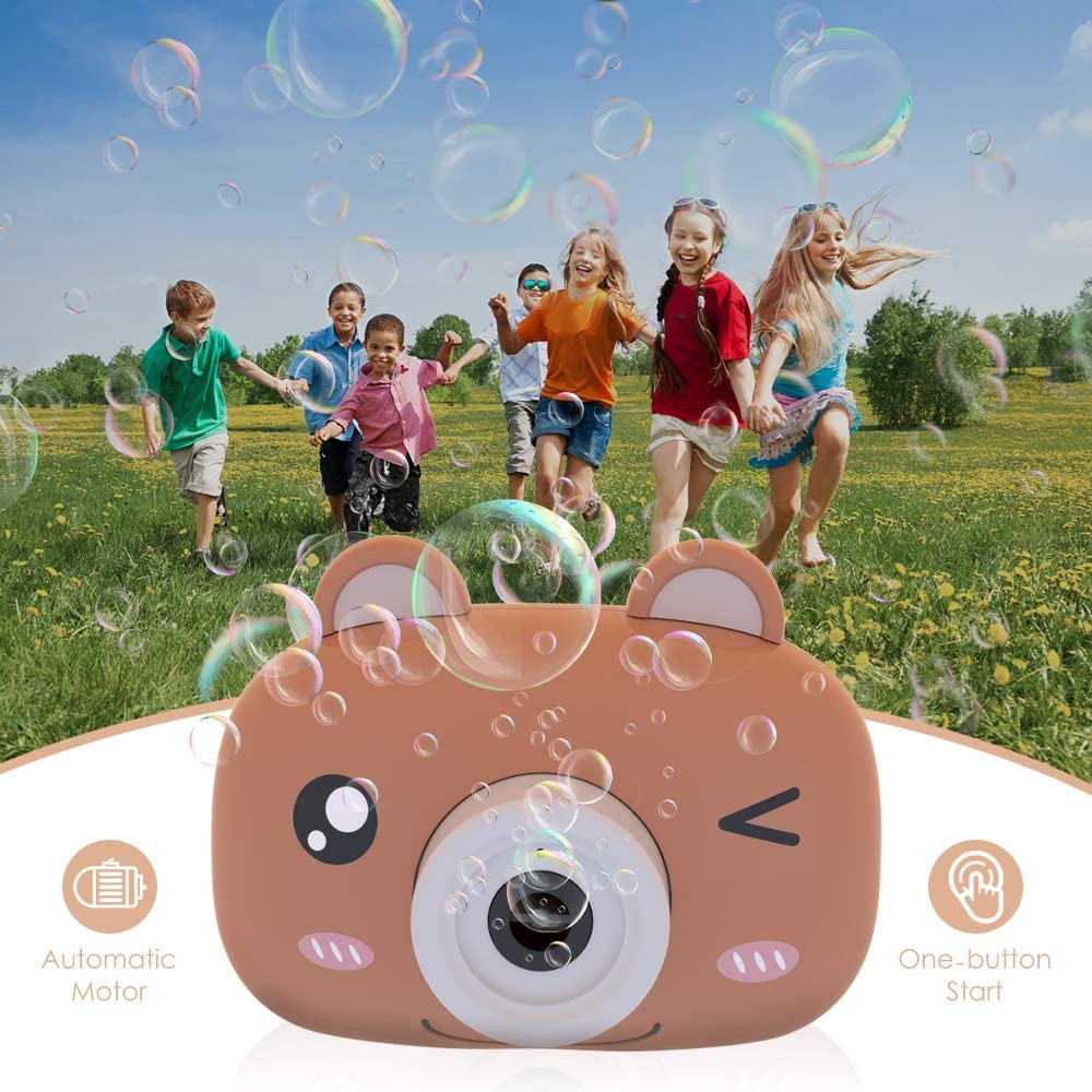 Bubble-Toy Door-Toys for Kids Summer Out Automatic Portable Music