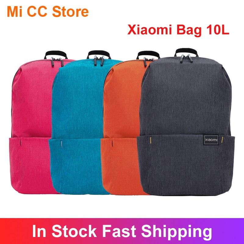 Xiaomi-mochila Original de 10L, colorida aplicación múltiple, cómoda bolsa de poliéster para hombros
