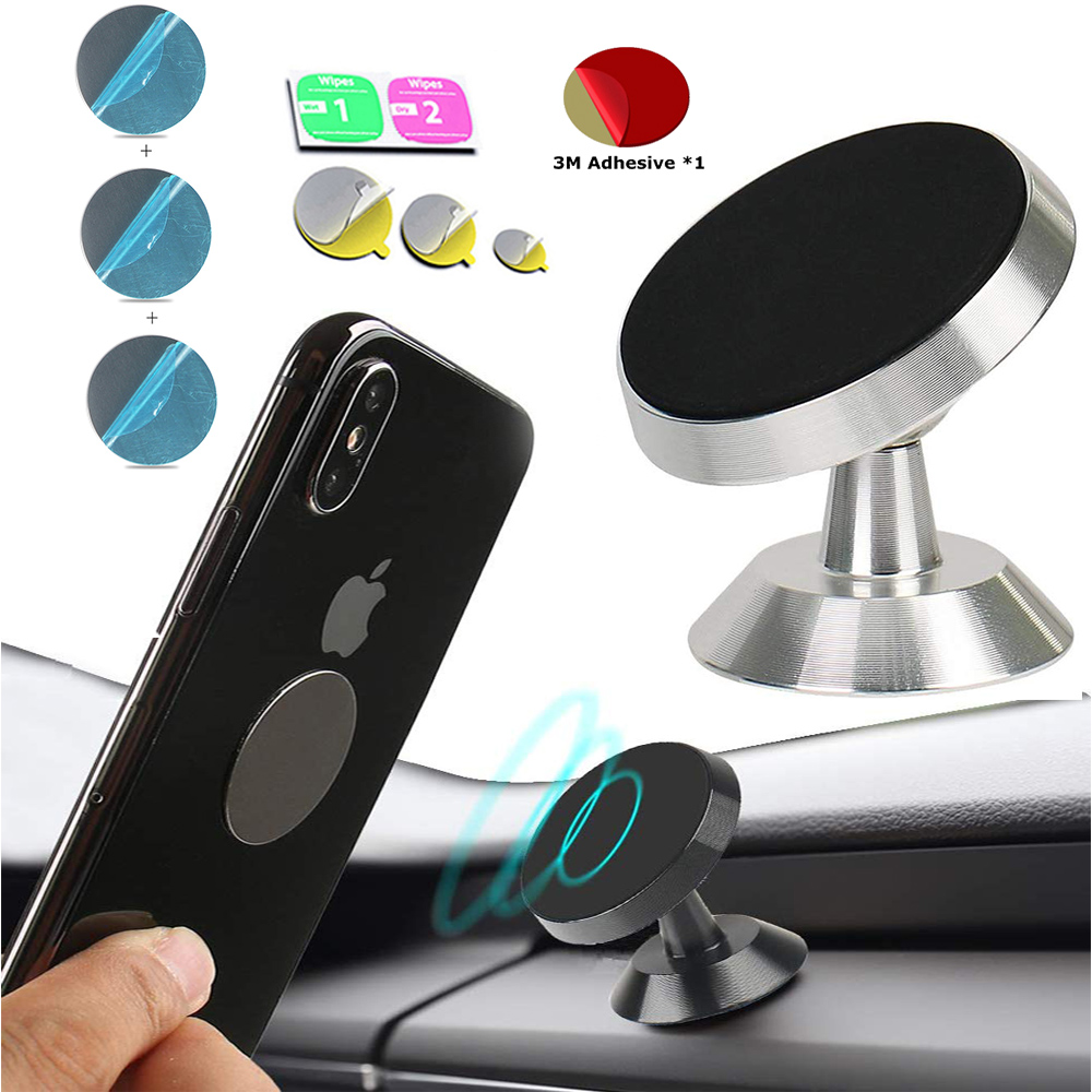 Magnetic Car Phone Stand Dashboard Phone New Luxury Stand Holder For IPhone11 Huawei P40 Pro Magnet Air Hole Handle Installation