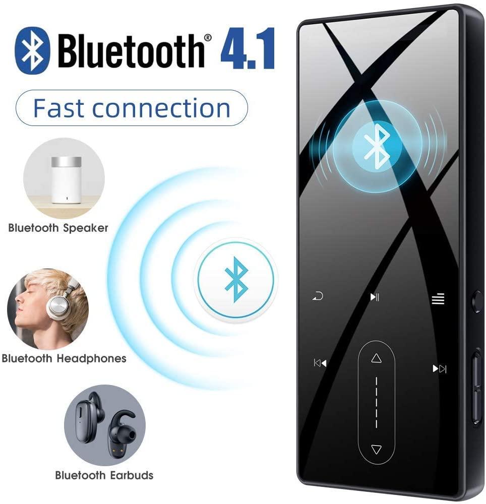 portátil de bluetooth com alto-falante, rádio fm,