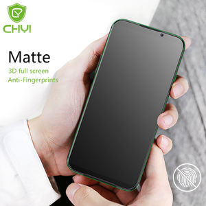 CHYI Matte Film For xiaomi Mi 9T black shark 2 3 Pro Screen Protector No Fingerprint 3D Curved Full cover Frosted Film not glass(China)