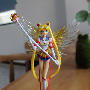 Cartoon Sailor Moon Action Figures Japan Anime 16cm Mercury Jupiter Venus Figurines Collectable Models Kids Toy Christmas gift