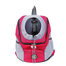 Pet Dog backpack chest bag portable travel breathable bag pet supplies backpack Novelty cat bag pet accessories Heat Dissipation