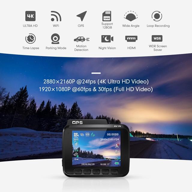 AZDOME GS63H 4K Dash Cam mit Dual Objektiv 2