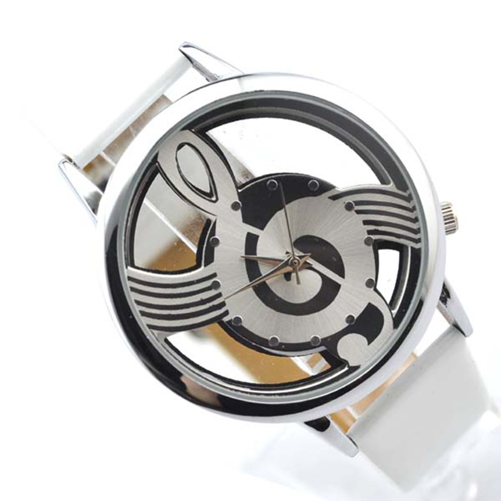 Classic Black Dial Leather Band Cheap Quartz Wrist Watches Men Women Luxury Brand Bracelet Couples Valentine Christmas Gift