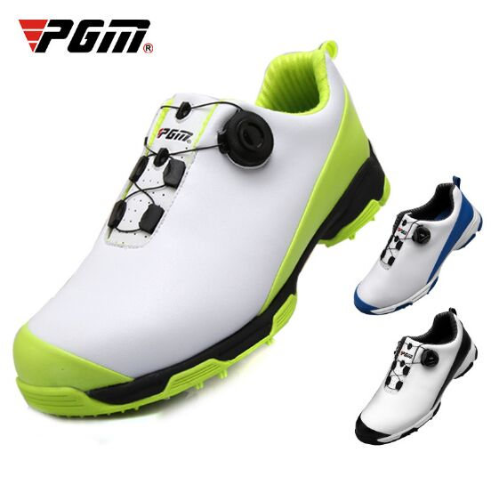 2020 Golf Shoes Men Waterproof Sports Shoes Knobs Buckle Shoes Mesh Lining Breathable Anti-slip Sneakers for Male 1