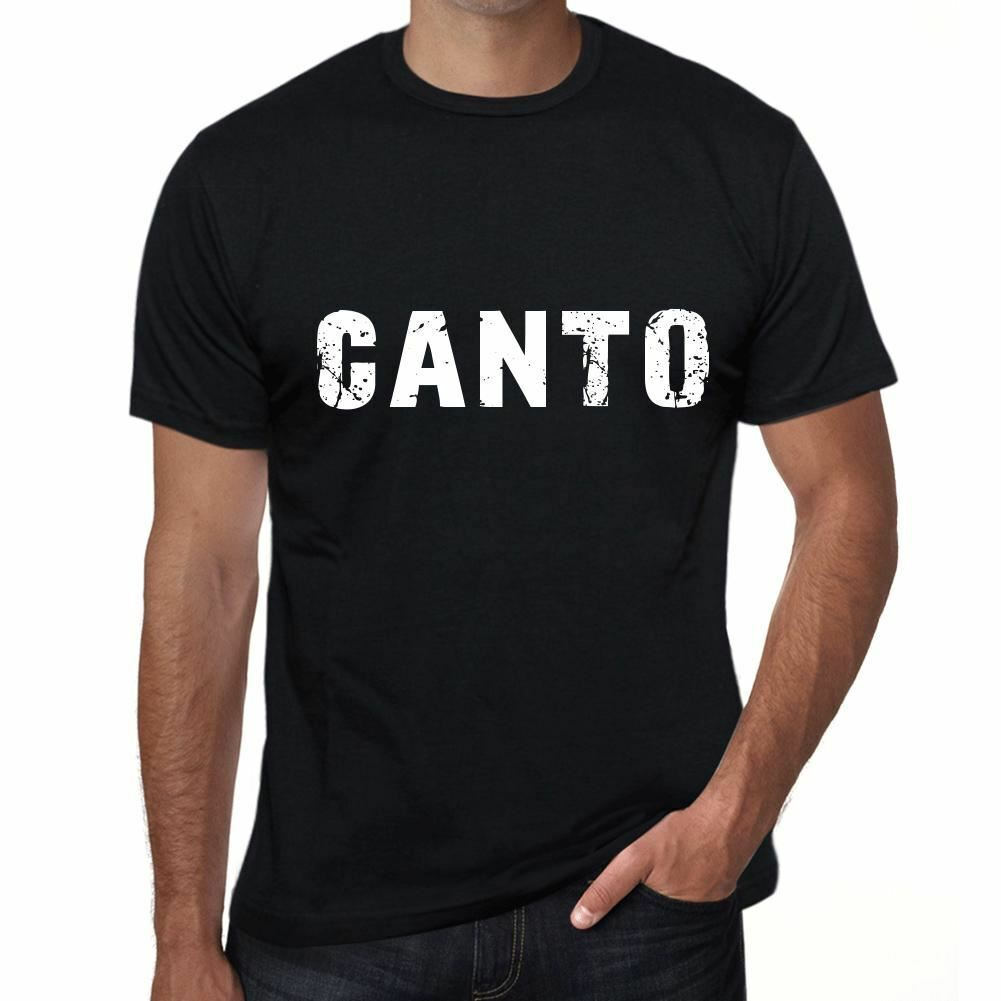 Canto masculino vintage impresso t camisa preto presente de aniversário 00553