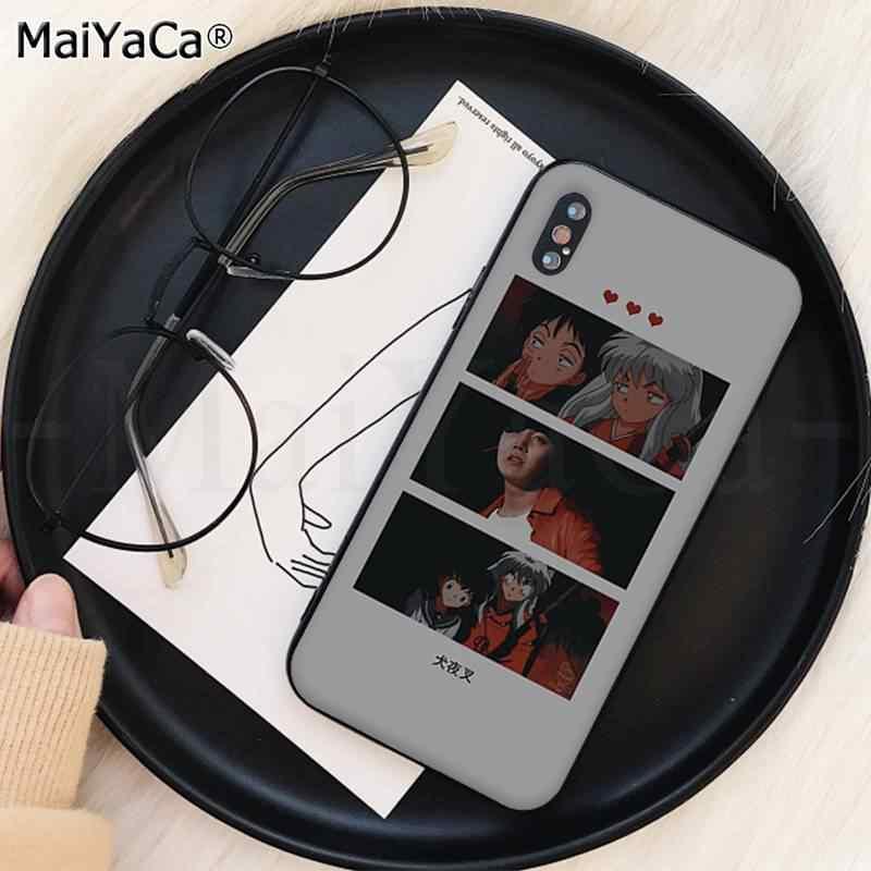 MaiYaCa KPOP Euphoria Jungkook Weichen schwarzen Fall für iPhone 11 pro XS MAX 8 7 6 6S Plus X 5 5S SE XR fall