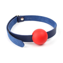 Exotic accessories Open Mouth Gag Harness Oral Fixation leather Band Ball Gag Mouth Plug Adult Restraint Slave Bondage Sex Toy цены