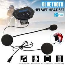 Bluetooth гарнитура 15 20hrs с микрофоном для мотоциклетного