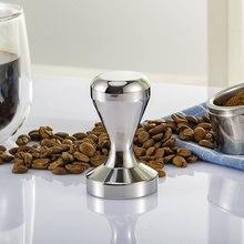 Твердая нержавеющая сталь 49 мм 51 мм 58 мм кофе тампер плоская основа кофе молоток порошок Es пресс o кофе в зернах мельница пресс аксессуары