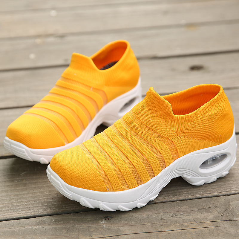 Damyuan 2020 New Fashion Summer Women's Shoes Height Increasing Breathable Mesh Jogging Air Cushion Sneakers