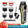 Kemei Hair clipper professional hair trimmer for men beard electric cutter hair cutting machine haircut LCD Cordless corded 5