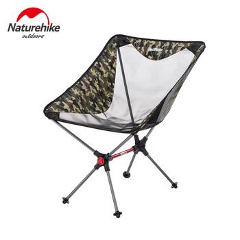 Naturehike lekkie wytrzymałe składane krzesło plażowe składane krzesło piknikowe przenośne składane krzesło kempingowe na zewnątrz tanie i dobre opinie