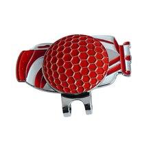 2 шт. гольф мешок сплав магнит, заколка на шляпу с мячом для гольфа маркер гольф подарок