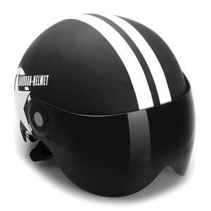 Motorcycle Helmet Half 3/4 wit