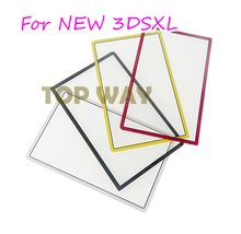 1PCS Plastic Top screen lens Front LCD Screen Frame Lens Cover for New 3dsxl 3DSLL New 3DS XL LL Replacement