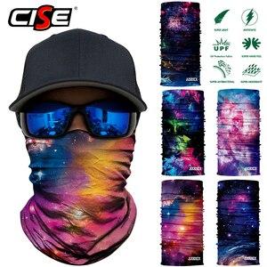 Image 3 - 3D бесшовная Галактическая Балаклава, волшебная маска для лица, чехол, теплая мотоциклетная Лыжная повязка на шею, Байкерская велосипедная бандана, трубчатый шарф для мужчин и женщин