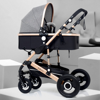 Adjustable Kereta Dorong Bayi 3 in 1 5