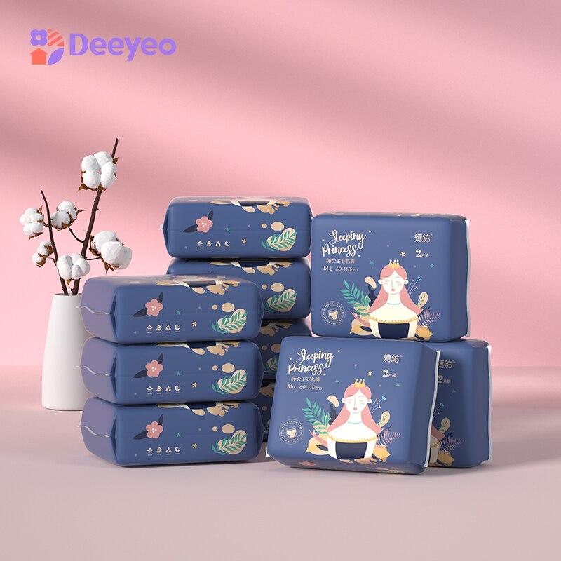 Deyo Women Sanitary Pants Maternity Night Health Care Sanitary Towel Feminine Menstrual Hygiene Cotton Pads 400mm 2pcsX10packs