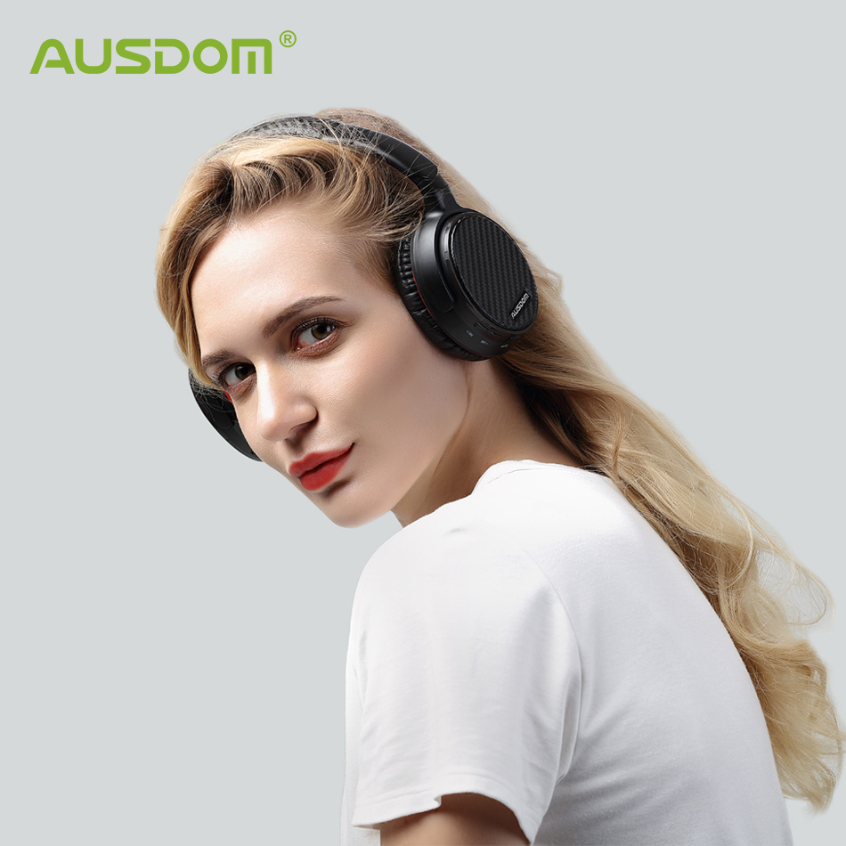 Ausdom ANC7S Aktive Noise Cancelling Bluetooth Kopfhörer HiFi Stereo Tiefe Bass Wireless <font><b>Headset</b></font> für <font><b>TV</b></font> Computer Telefon image