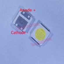 500 יח\חבילה SMD LED 3030 3V 1.8W קר לבן גבוהה כוח עבור טלוויזיה תאורה אחורית יישום 3.0*3.0*0.6mm
