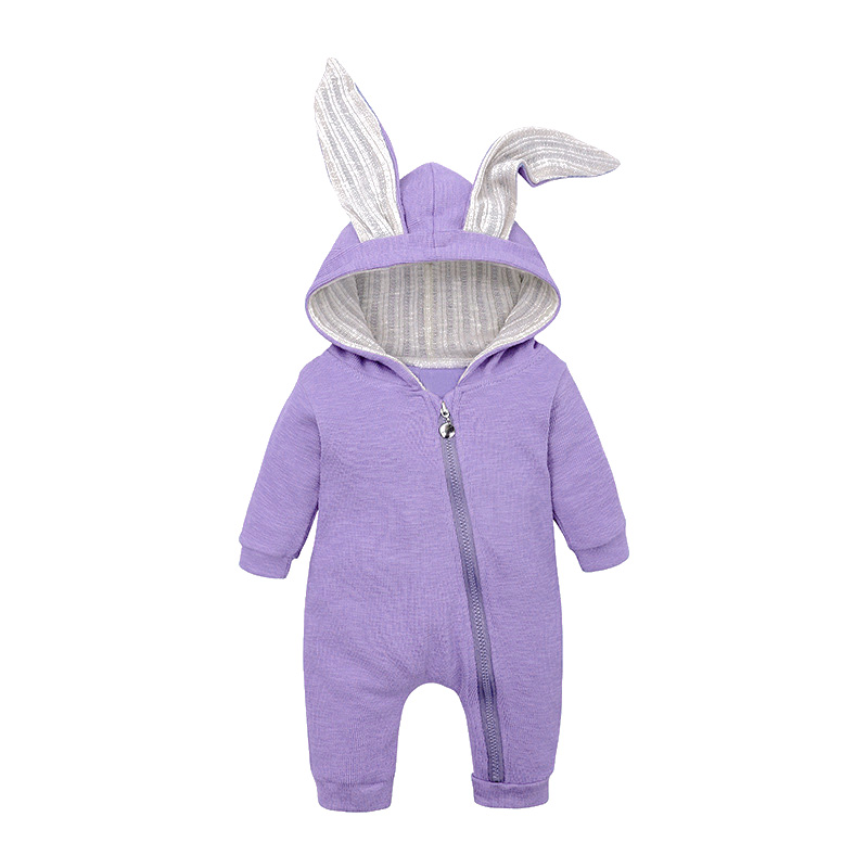 LZH Infant Clothing Baby Girl Boys Clothes Autumn Spring Newborn Baby Rompers For Baby Jumpsuit Overalls Easter Costume 0 2 Year