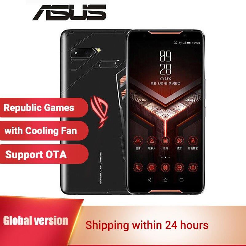 Global Version Asus ROG Phone Gaming Smartphone ZS600KL 8GB RAM 128GB 512GB ROM 6